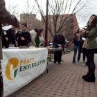 The Envirolutions table during Green Week